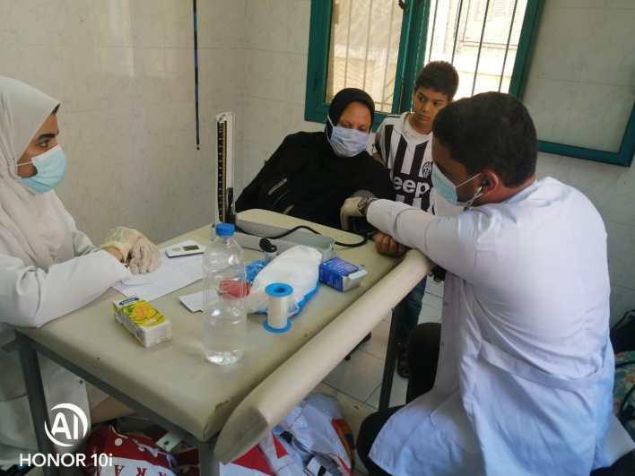 جامعة كفر الشيخ تطلق قافلة طبية شاملة لأهالي قرية بني بكار
