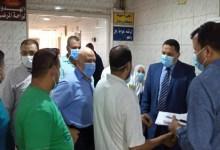 وكيل وزارة الصحة بالمنوفية يتفقد مستشفى قويسنا المركزي