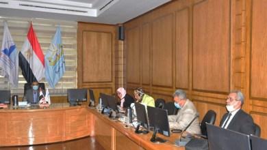 رئيس جامعة كفر الشيخ يترأس لجنة اختيار عميد كلية العلاج الطبيعي