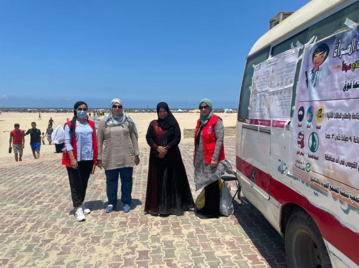 صحة الدقهلية تعلن تفعيل المبادرات الرئاسية على شاطئ مصيف جمصة