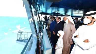 الرئيس السيسي يفتتح قاعدة 3 يوليو البحرية ويتابع المناورة قادر 2021