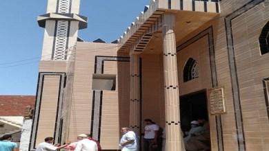 افتتاح مسجد الزهيري بكفر الشيخ بتكلفة مليون و235 ألف مليون جنيه بالجهود الذاتية