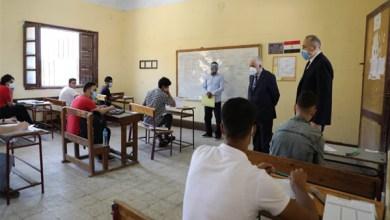 وزير التربية والتعليم يتفقد سير امتحانات الثانوية العامة بلجان القاهرة