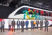 وزير النقل يفتتح خط إنتاج قطارات مونوريل العاصمة الإدارية الجديدة و6 أكتوبر
