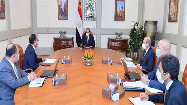 """الرئيس السيسي يتابع موقف إنشاء سد """"جوليوس نيريري"""" في تنزانيا"""