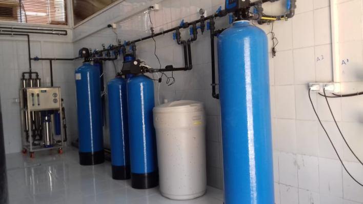 دعم مستشفى ميت سلسيل المركزي بمحطة معالجة مياه جديدة