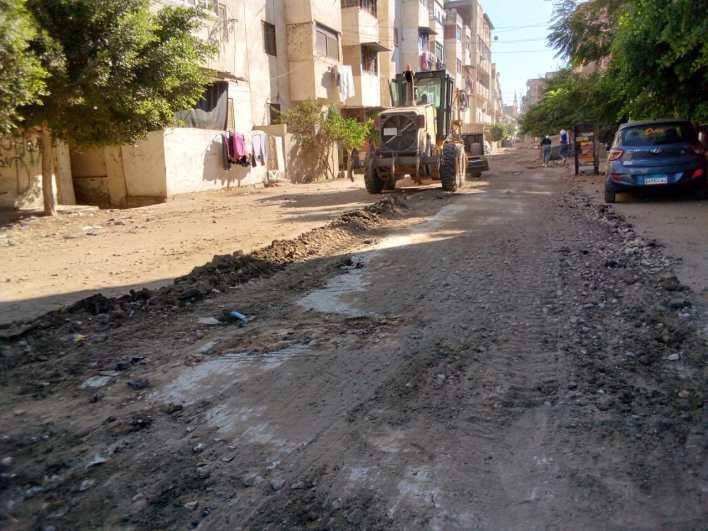 مدينة بيلا تواصل حملاتها لتمهيد الطرق ونظافة وصيانة كشافات الإنارة