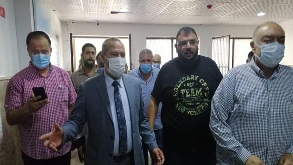 وكيل وزارة الصحة بالدقهلية يتفقد تطورات مستشفى بلقاس المركزي