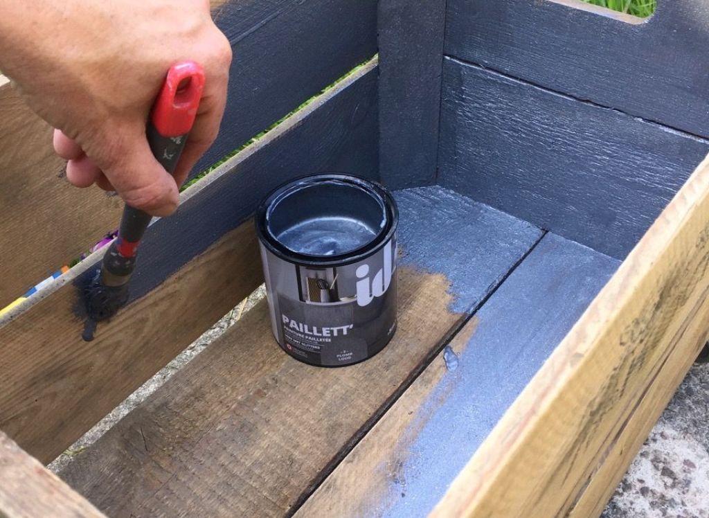 DIY : Transformer une caisse à pommes en meuble mobile 1