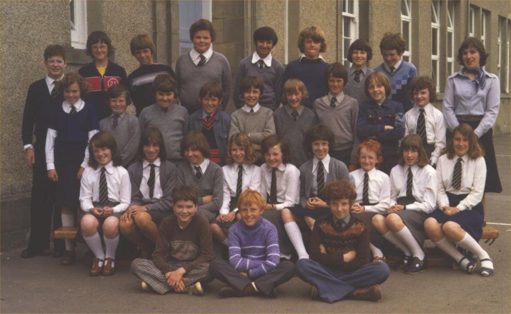 Caithness CWS School Days Miller Academy 1977 Primary 7 1