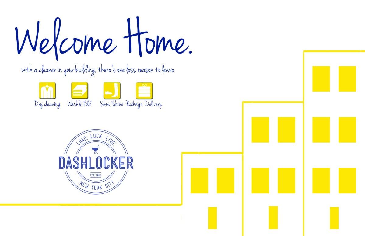 DashLocker | Welcome Home Postcard