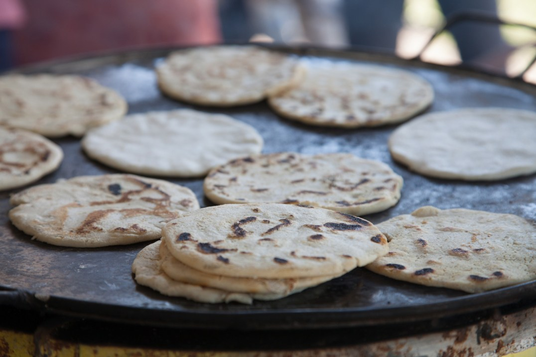 Tortillas cooking on an Ecocina stove from StoveTeam International