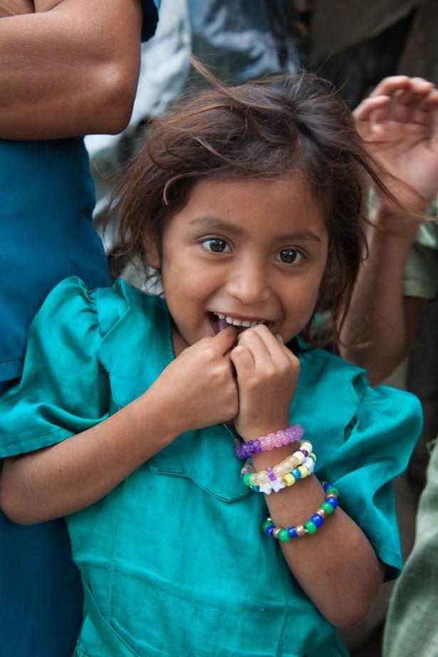 A young girl in San Jose de las Lagrimas