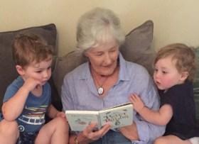 Julia O & grandkids