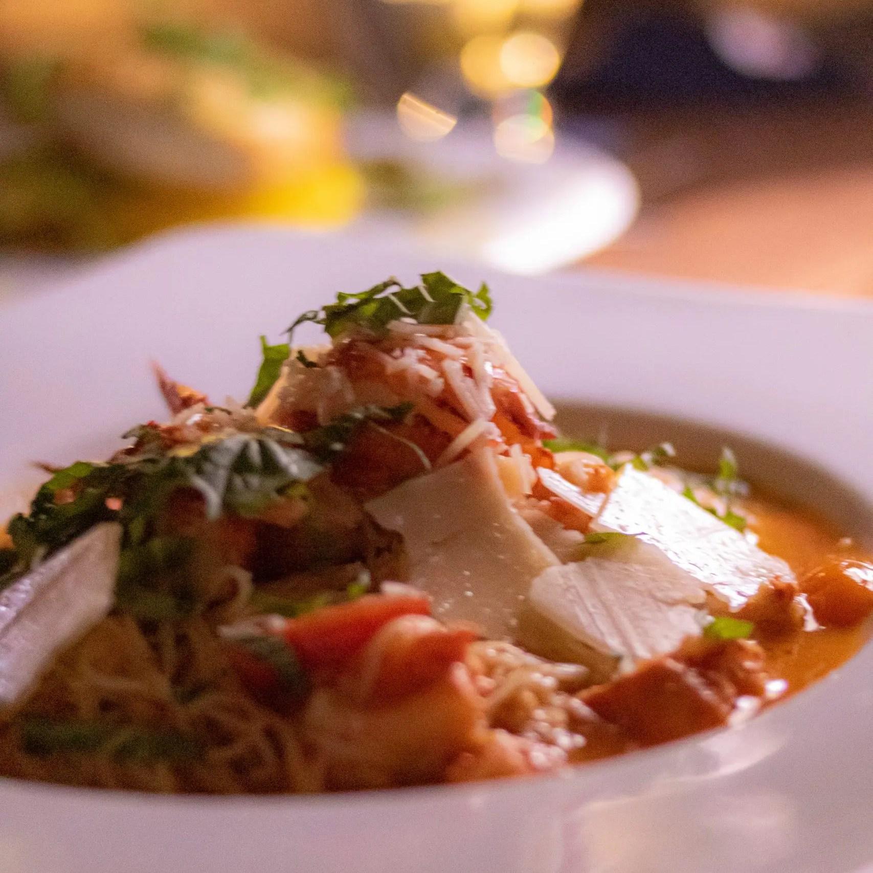 Ocean-Edge-Resort-Fall-Visit-Lobster Pasta
