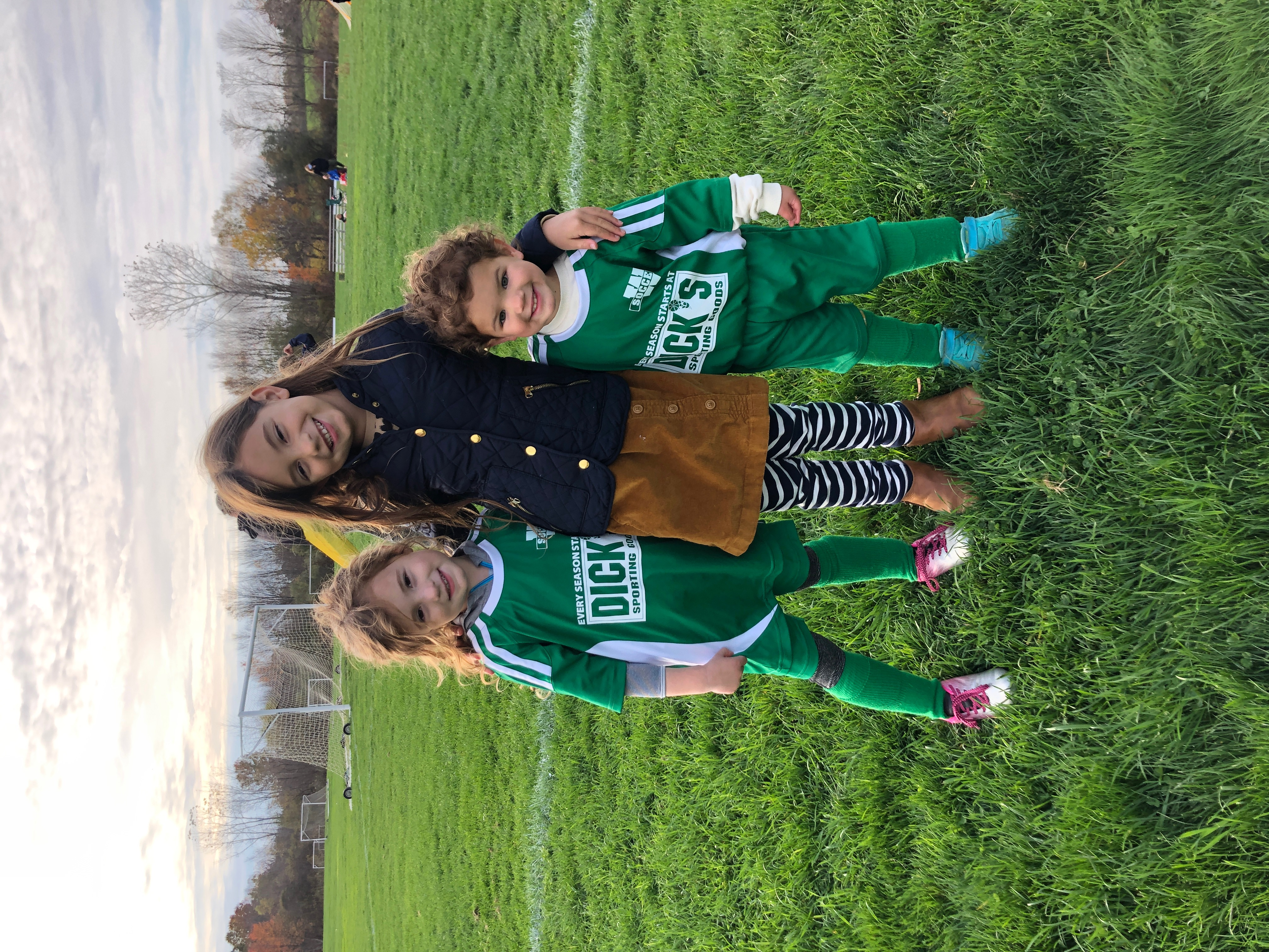 cousins at soccer practice october 2020