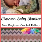 Gender Neutral Chevron Baby Blanket Caitlin S Contagious Creations