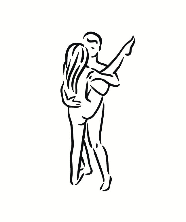 standing sex kama sutra