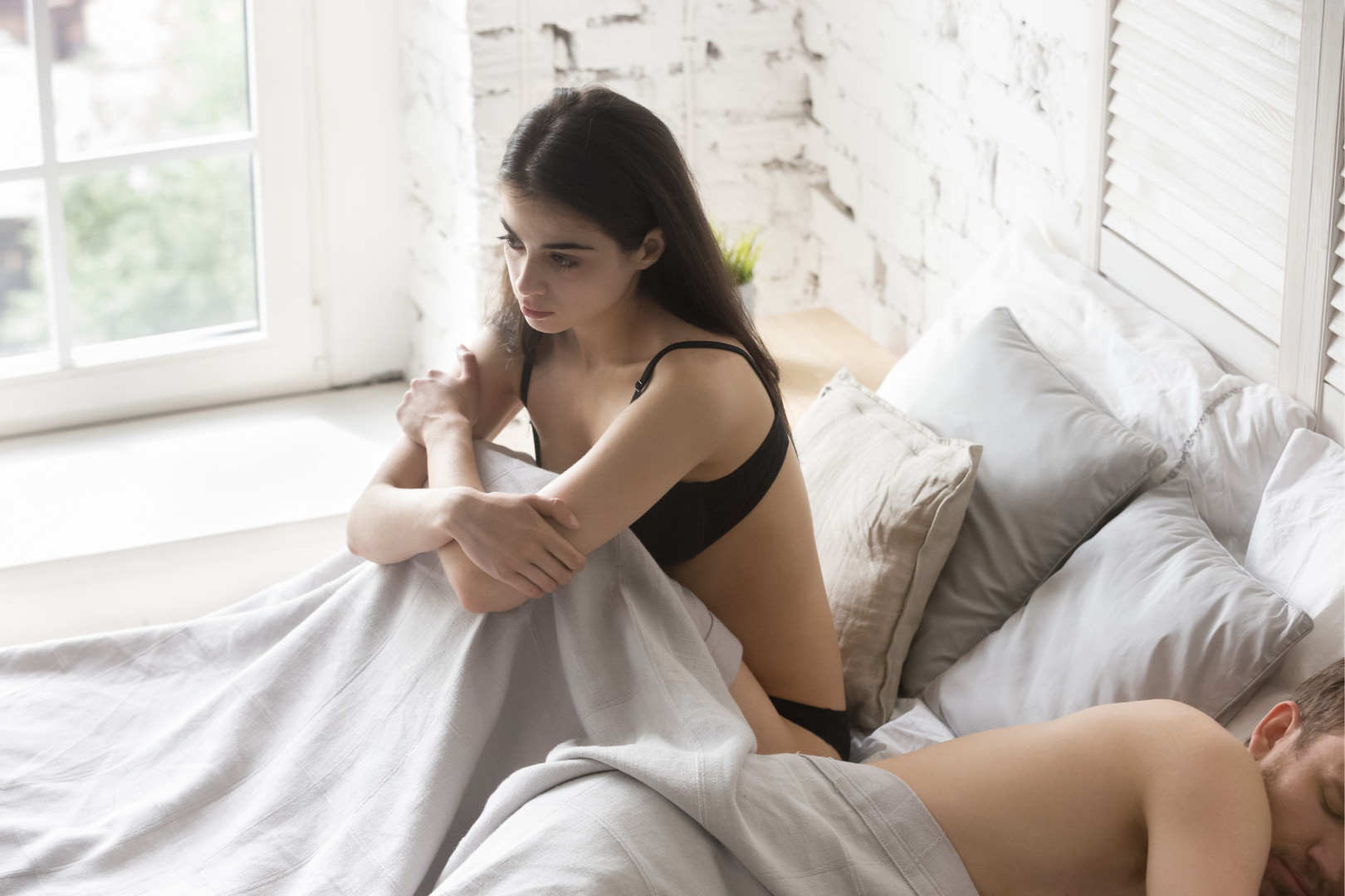 woman dealing with relationship problems