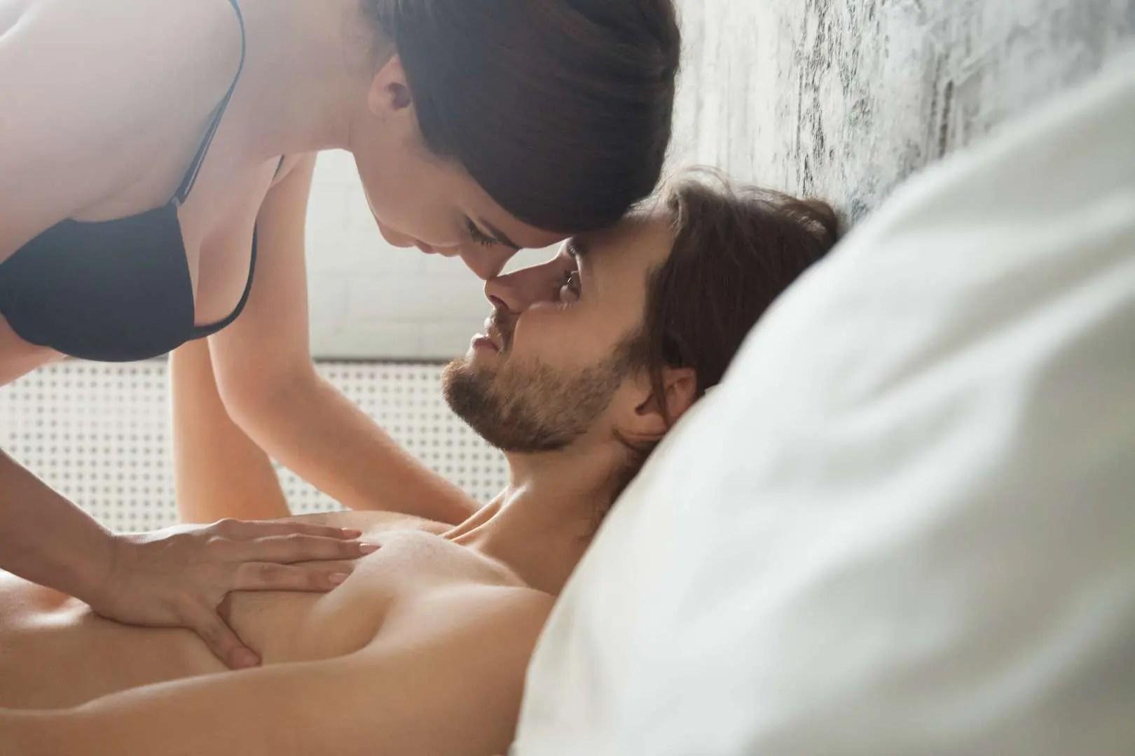 couple having morning sex