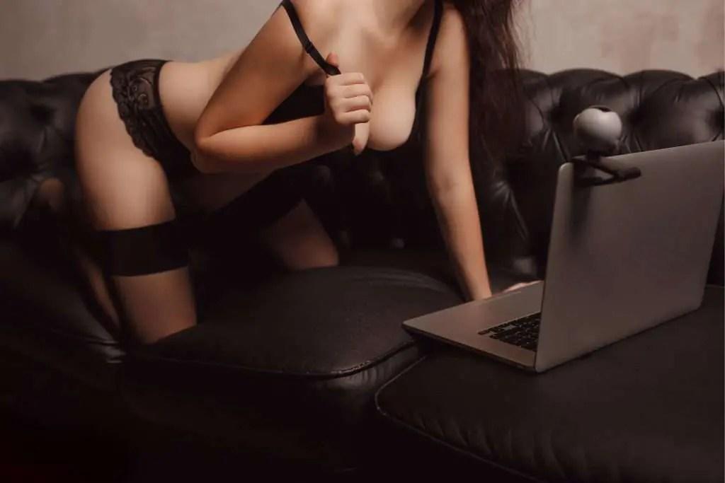 webcam woman