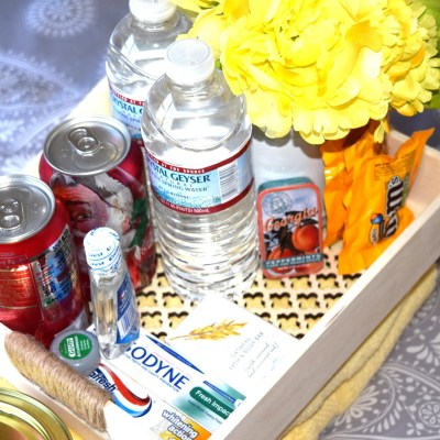A Welcome Basket For Your Guests!