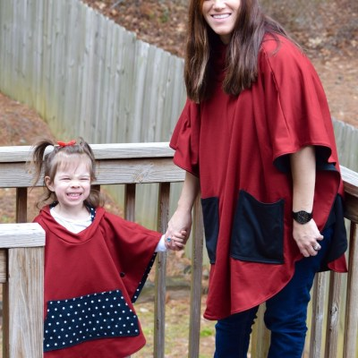 Mommy And Me Ponchos!