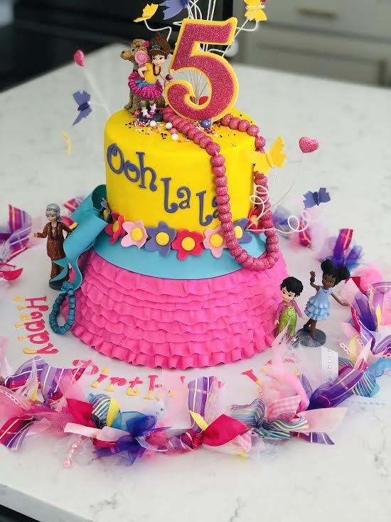 Astonishing Lilys 5Th Fancy Nancy Birthday Party Caits Cozy Corner Funny Birthday Cards Online Overcheapnameinfo