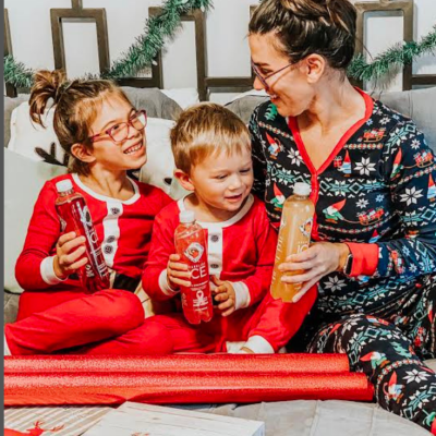 Celebrating Holiday Traditions with Sparkling Ice