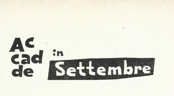 Accadde in settembre