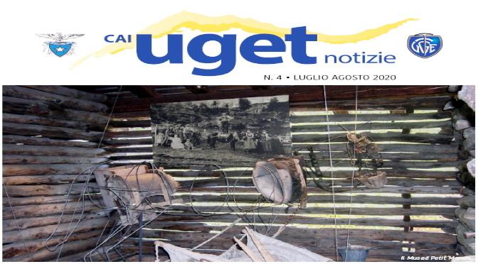 """""""CAI UGET NOTIZIE"""" di  Luglio – Agosto 2020"""