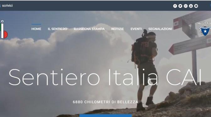 """ON LINE SITO """"SENTIERO ITALIA CAI"""""""