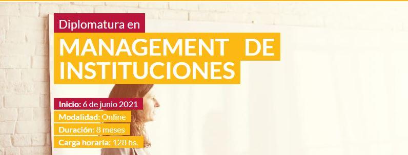 Diplomatura en Management de Instituciones