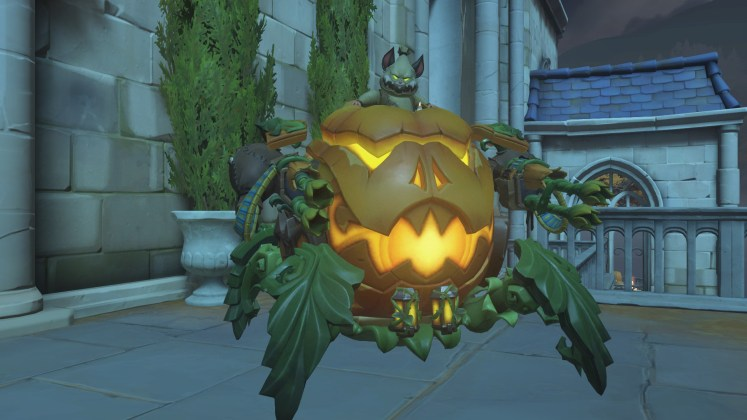 skin legendaria wrecking ball halloween terror 2018 overwatch