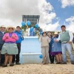 Yanacocha mejora sistema de agua potable para 97 familiares de Tres Tingos