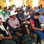 Amenazan con plantón al alcalde de Bambamarca para que reinicie obra de sanemaiento