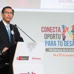 Presidente Vizcarra inauguró la VIII Semana de la Inclusión Social