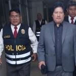 Declaran infundado cese de prisión para Edwin Oviedo