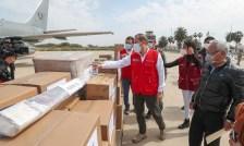 Foto de <Jefe de PCM y ministro de Agricultura supervisan obras en Lambayeque