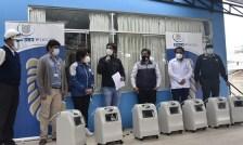 Foto de <Gold Fields apoya con oxígeno a centros de salud del distrito de Bambamarca
