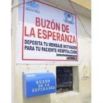 Hospital de Trujillo instala buzón de la esperanza para alentar a pacientes covid-19