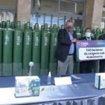 Caja Arequipa entregará 440 tanques de oxígeno a hospitales de la ciudad