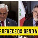 Chile ofreció oxígeno medicinal al Perú, confirmó Francisco Sagasti