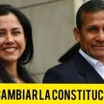 Ollanta Humala está a favor de cambiar la Constitución de 1993