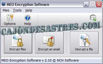 meo file encryption for mac