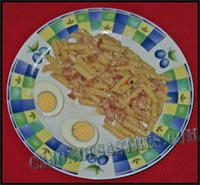 receta de macarrones con panceta