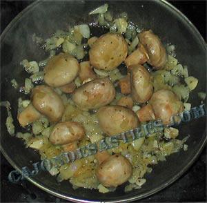 receta de champis alegres