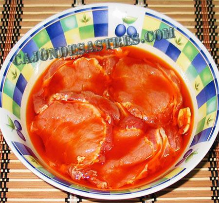 receta macerado de carne