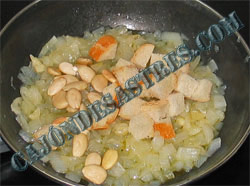 receta de jibia en salsa de almendras