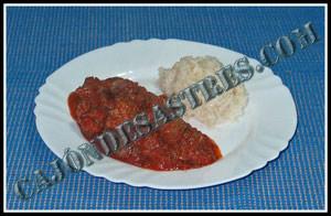 receta de carrillada con tomate